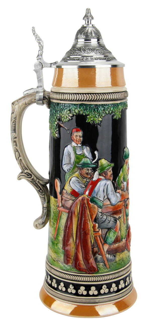 After the Hunt Traditional Style 2 Liter Beer Stein
