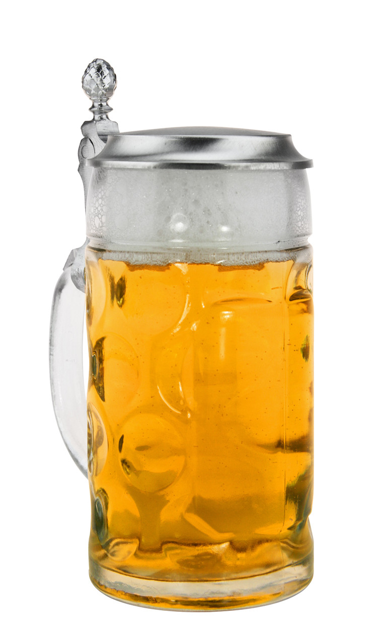 0.5 Liter Collectible Beer Glass with Lid