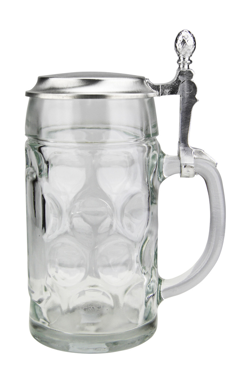 Empty Stein after Happy German Downed its Contents