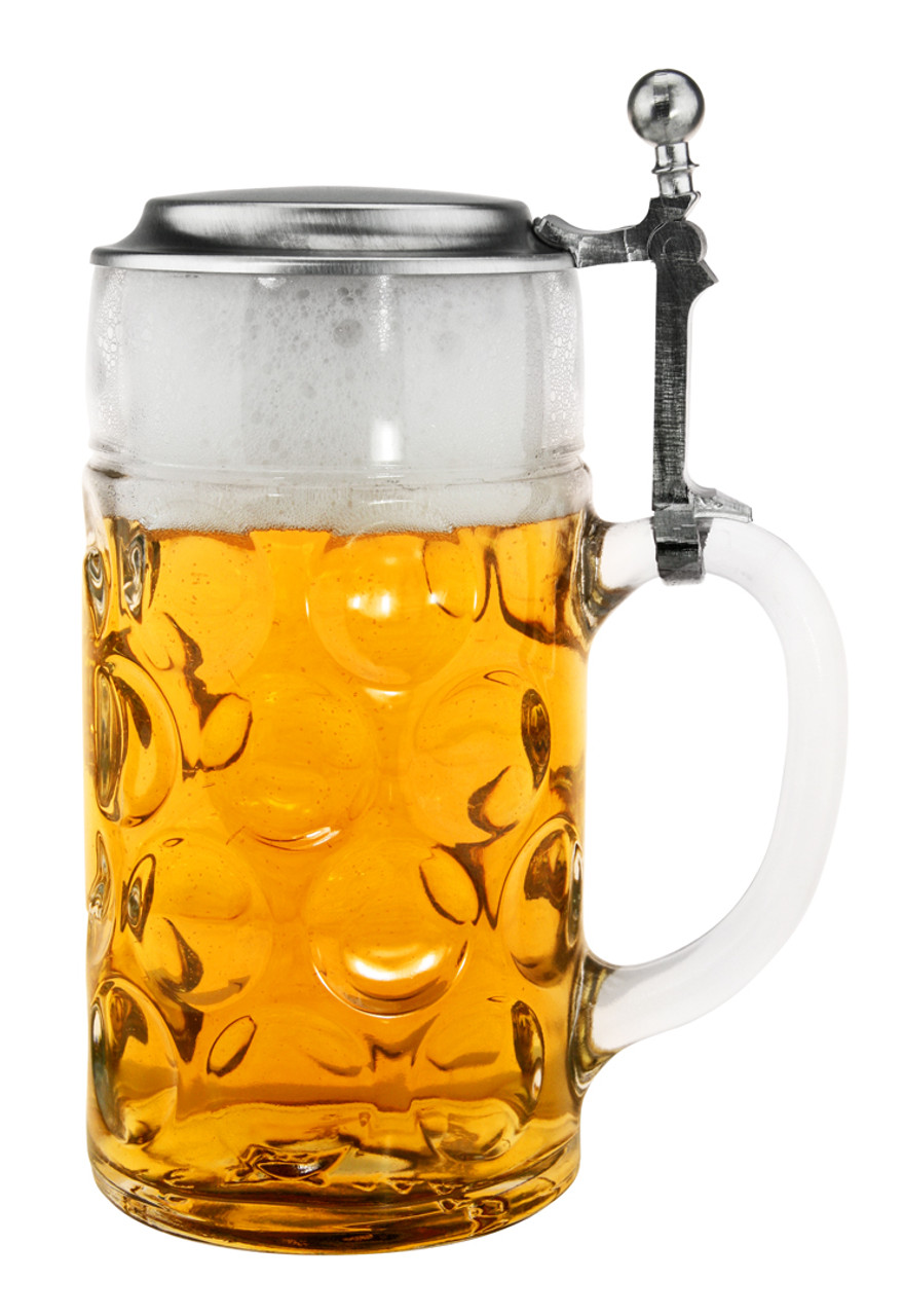 Authentic German 1 Liter Beer Mug