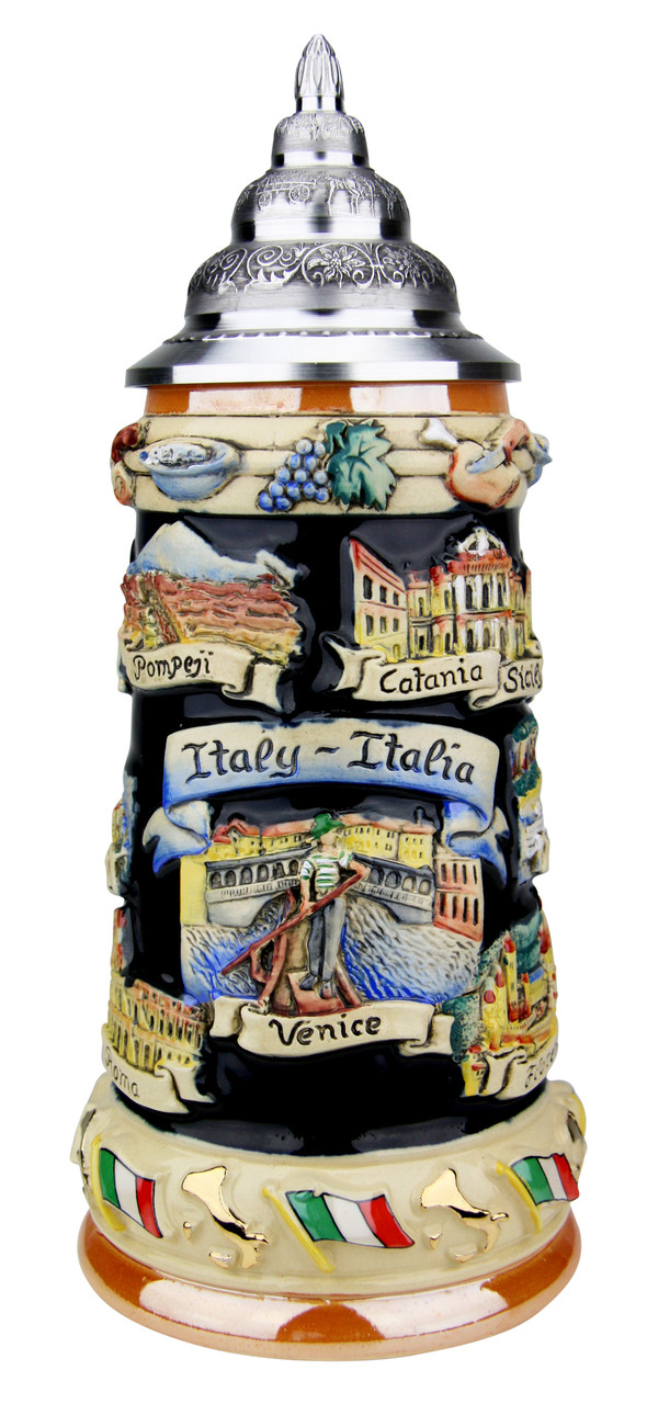 Italy Panorama Beer Stein