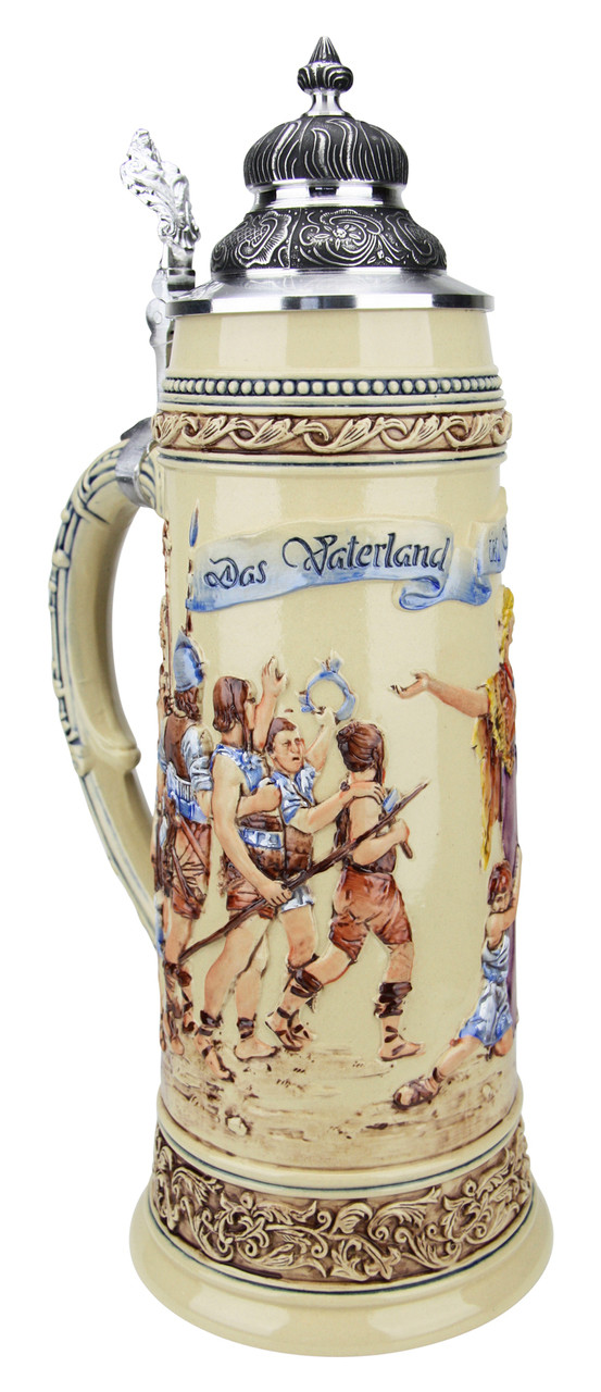 King Limitaet 2017 | Defending the Homeland Handpainted Beer Stein