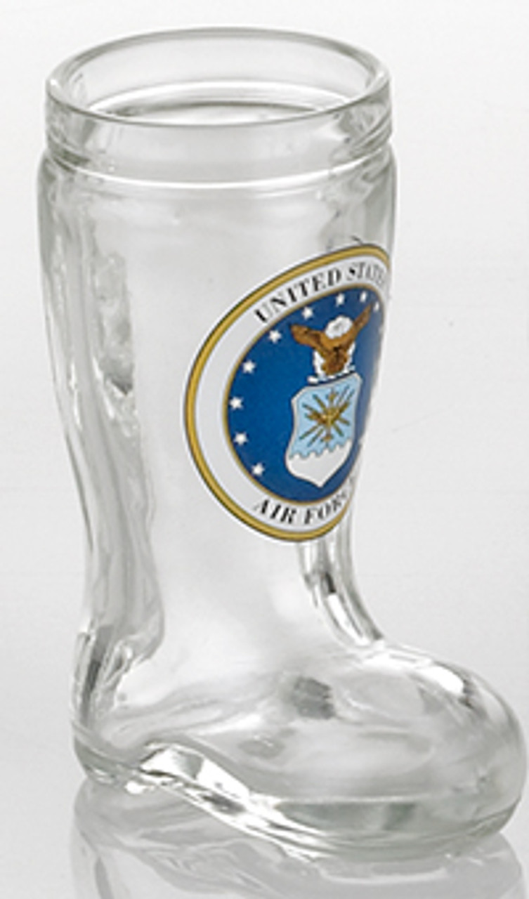 Air Force Beer Boot Shot Glass