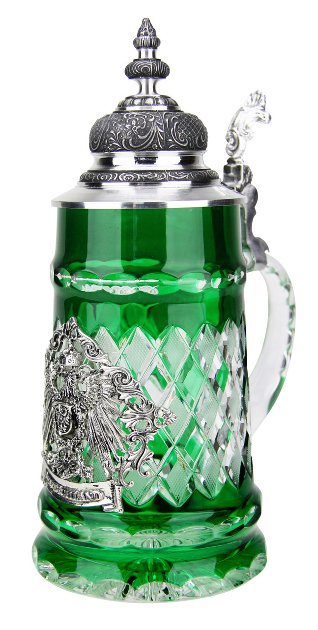 Lord of Crystal Deutschland Beer Stein Green