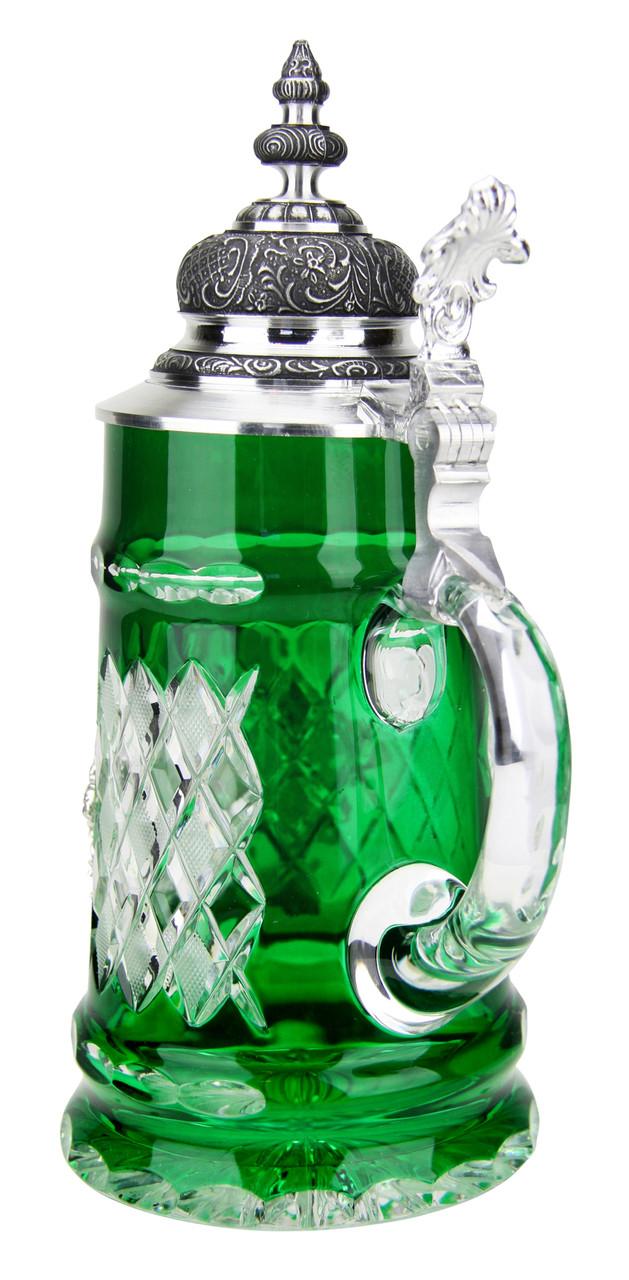 Lord of Crystal Deutschland Beer Stein Green