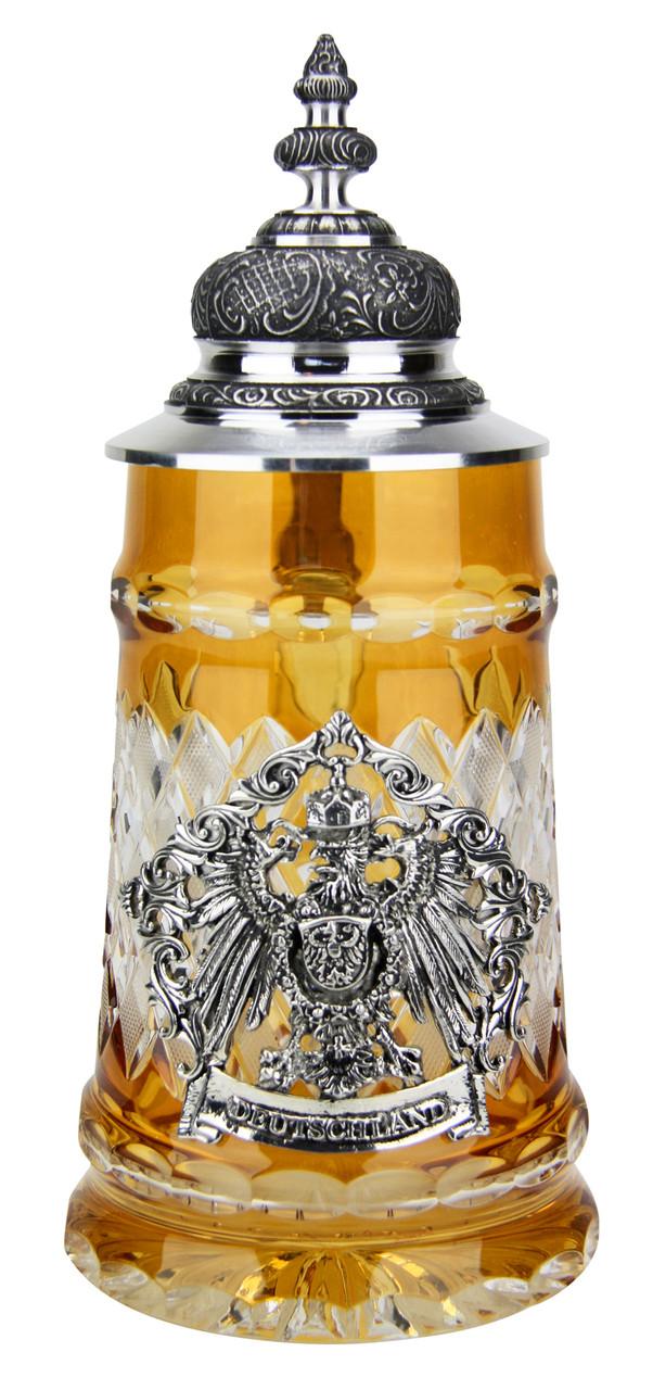 Lord of Crystal Deutschland Beer Stein Amber