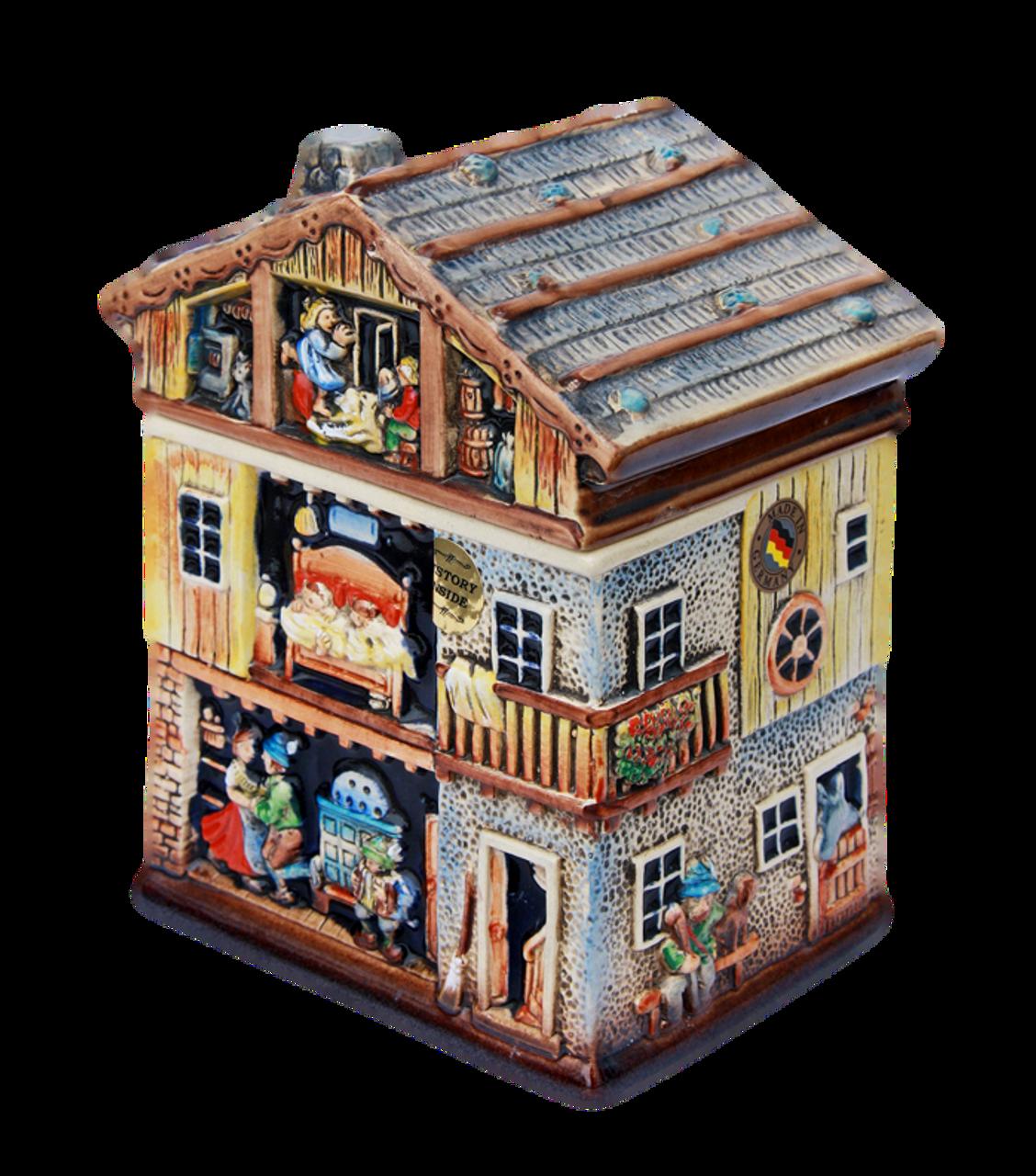 Alpine House 3D Beer Stein   2 Liter