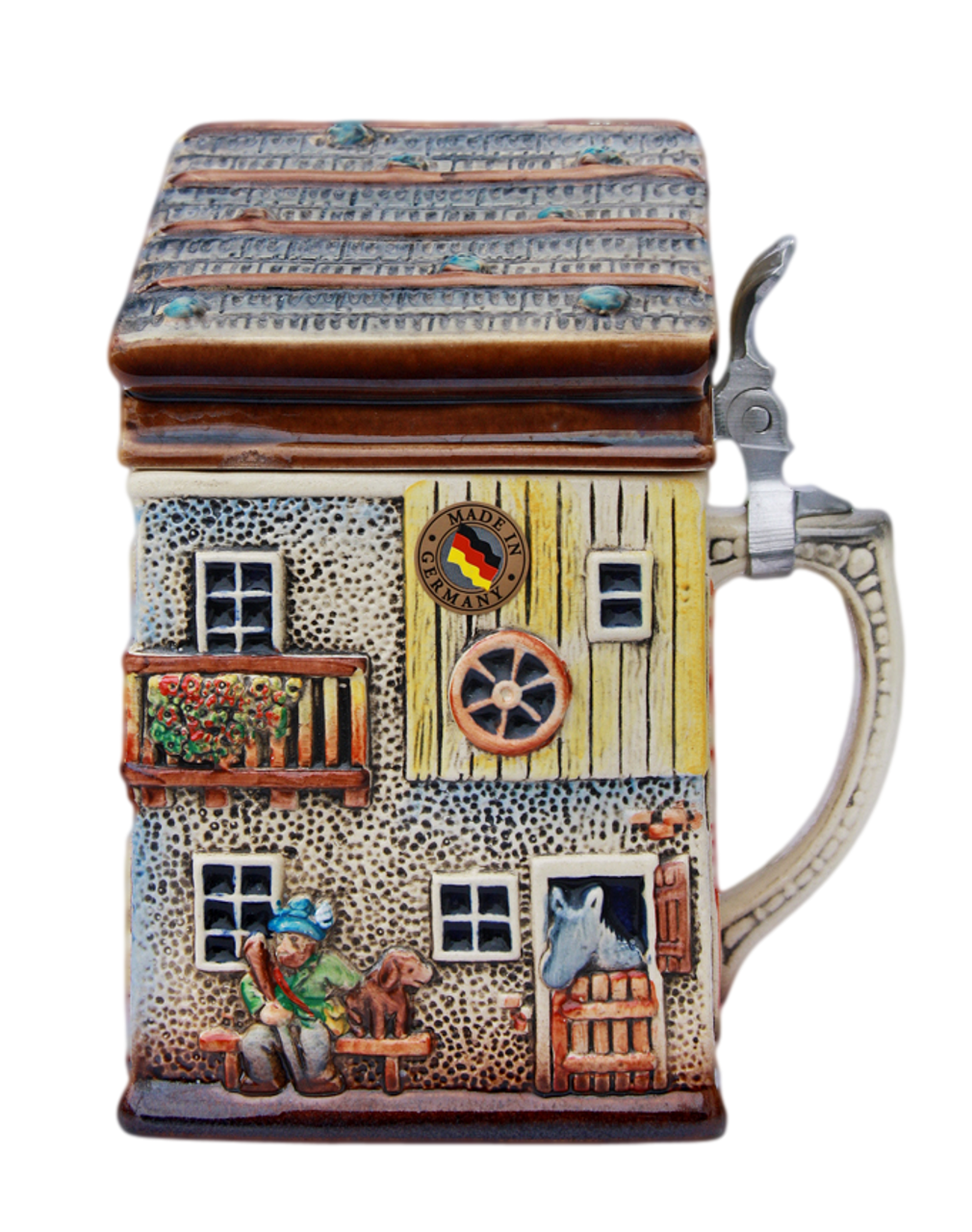 Alpine House 3D Beer Stein | 2 Liter