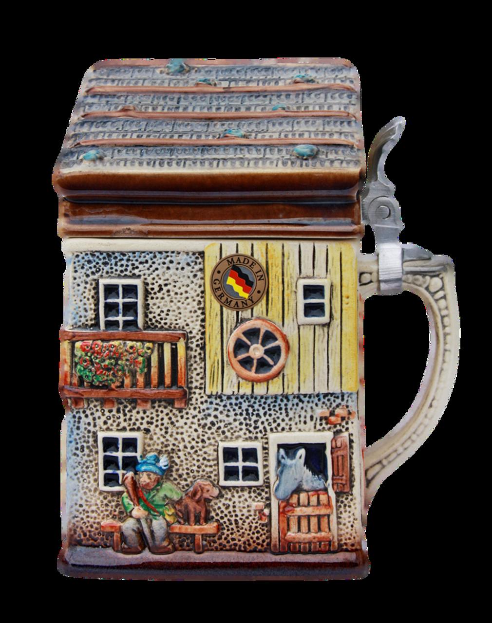 Alpine House 3D Beer Stein | 2 Liter
