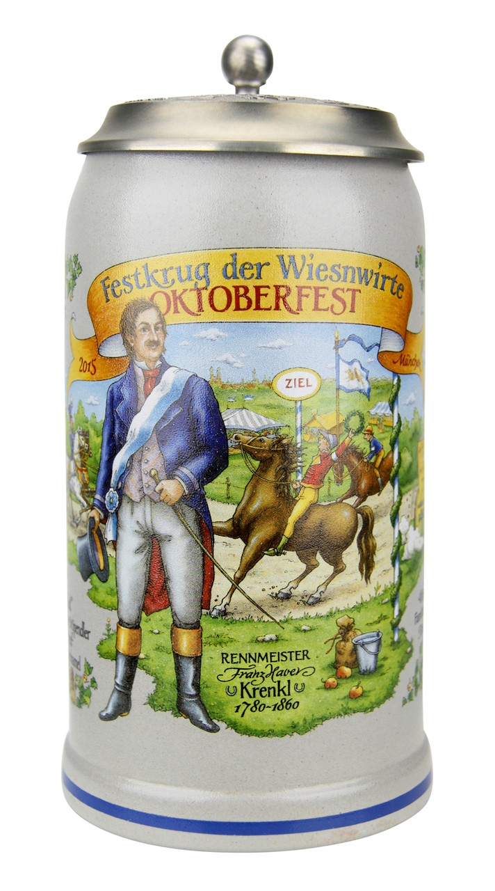 Official 2015 Oktoberfest Ceramic Beer Stein for Sale