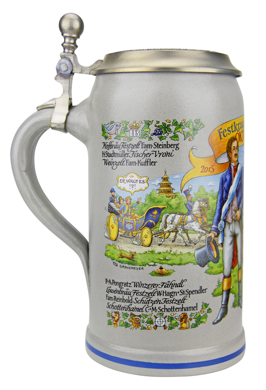 Munich Oktoberfest Official Ceramic Beer Mug