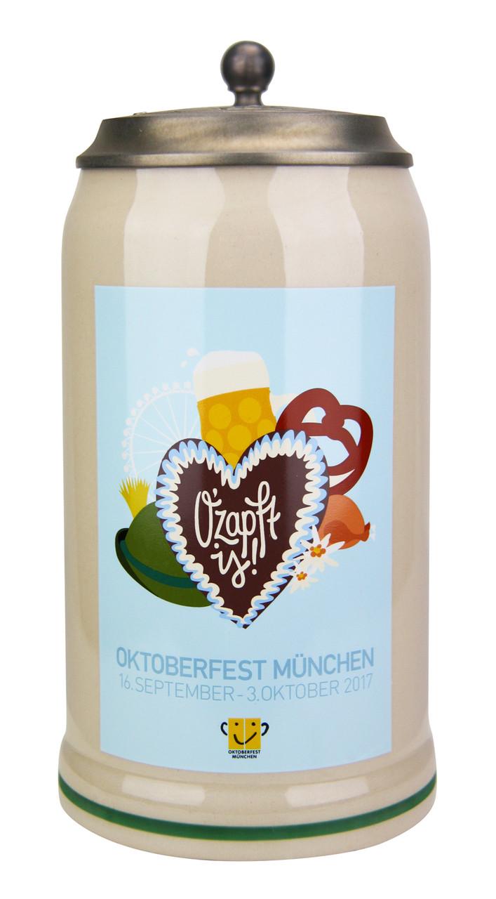 Munich 2017 Official Oktoberfest Beer Stein