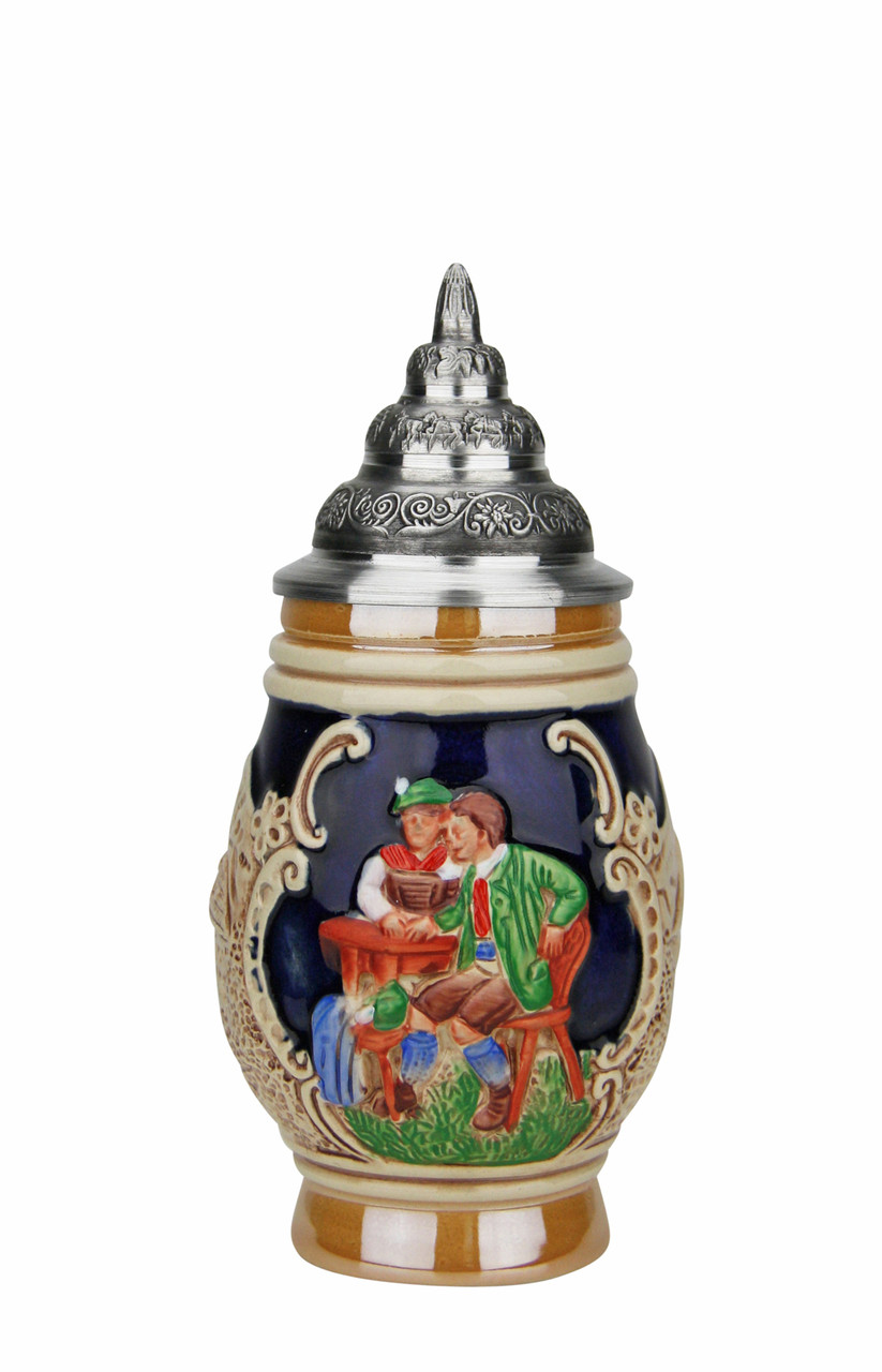 Mini German Stein Artwork Based on Franz Defregger