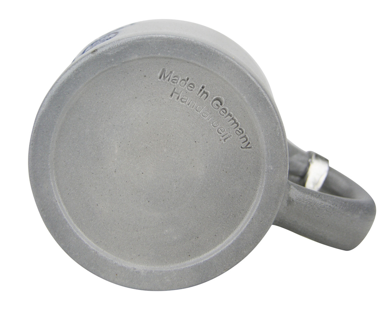 """Stamped """"Made in Germany Handarbeit"""" (hand-made) on the base."""