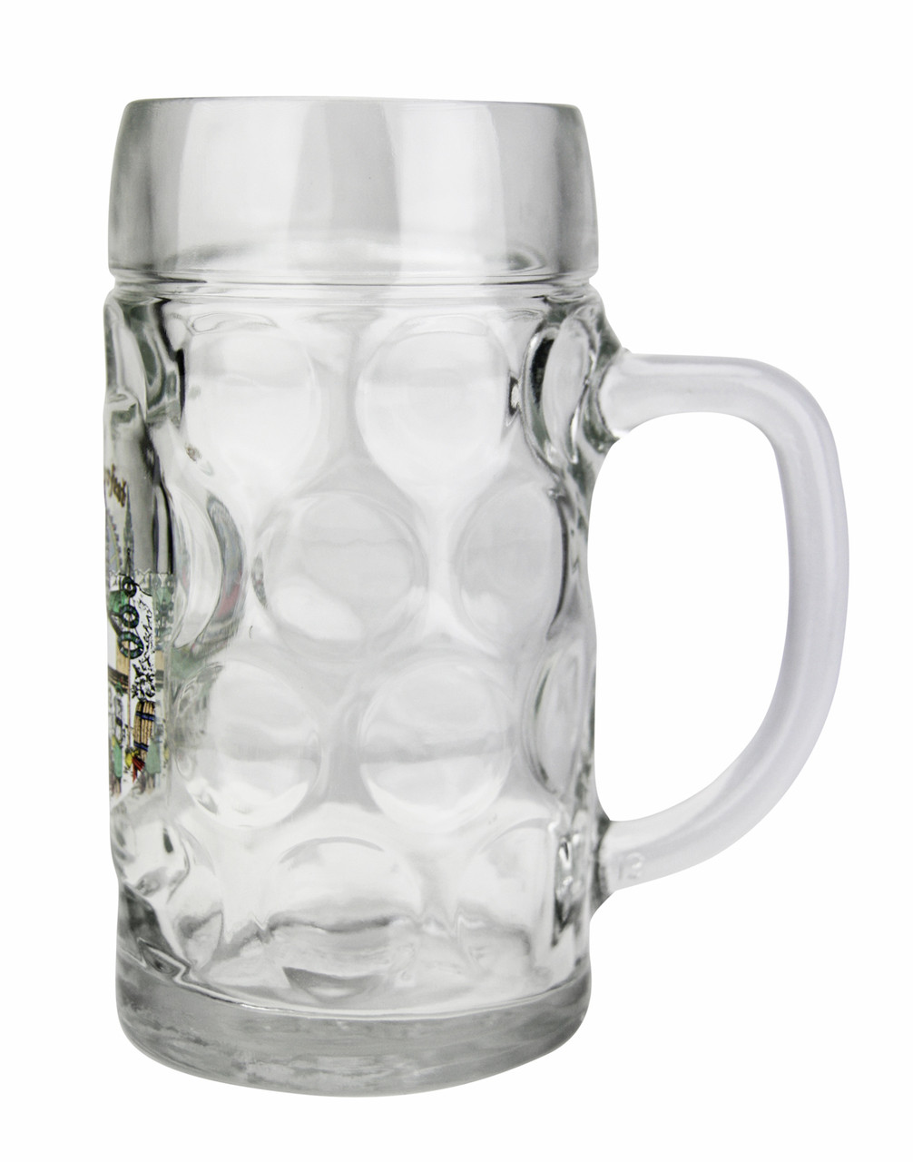 Custom Engraved Oktoberfest Munich Dimpled Oktoberfest Glass Beer Mug 0 5 Liter