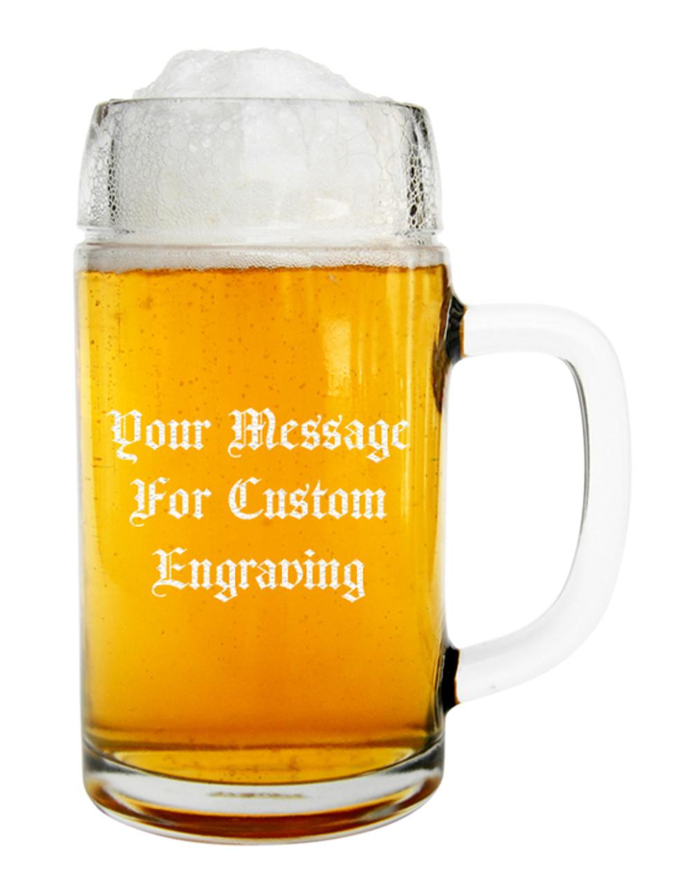Custom Engraved 0.5 Liter Styria Oktoberfest German Beer Mug