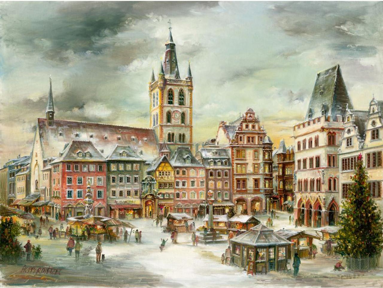 Trier Christmas Market German Advent Calendar