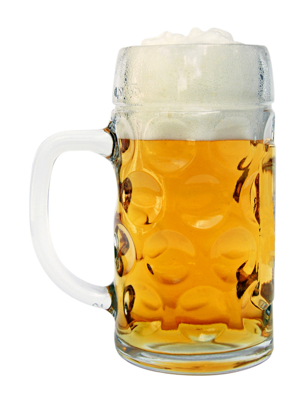 Your Favorite Beer in a Traditional German Personalized Beer Mug