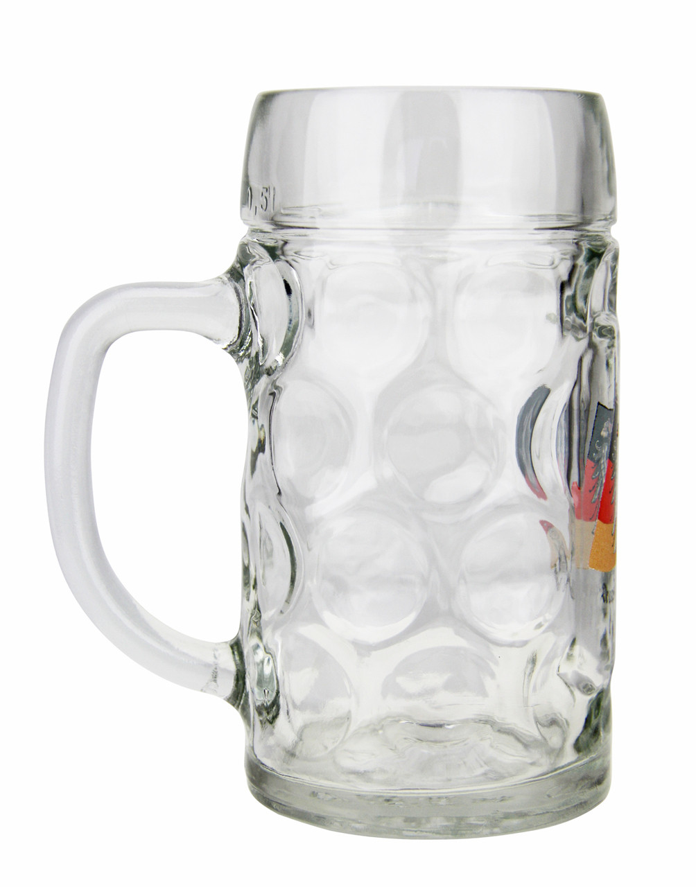 Authentic German Beer Stein with Eagle Crest
