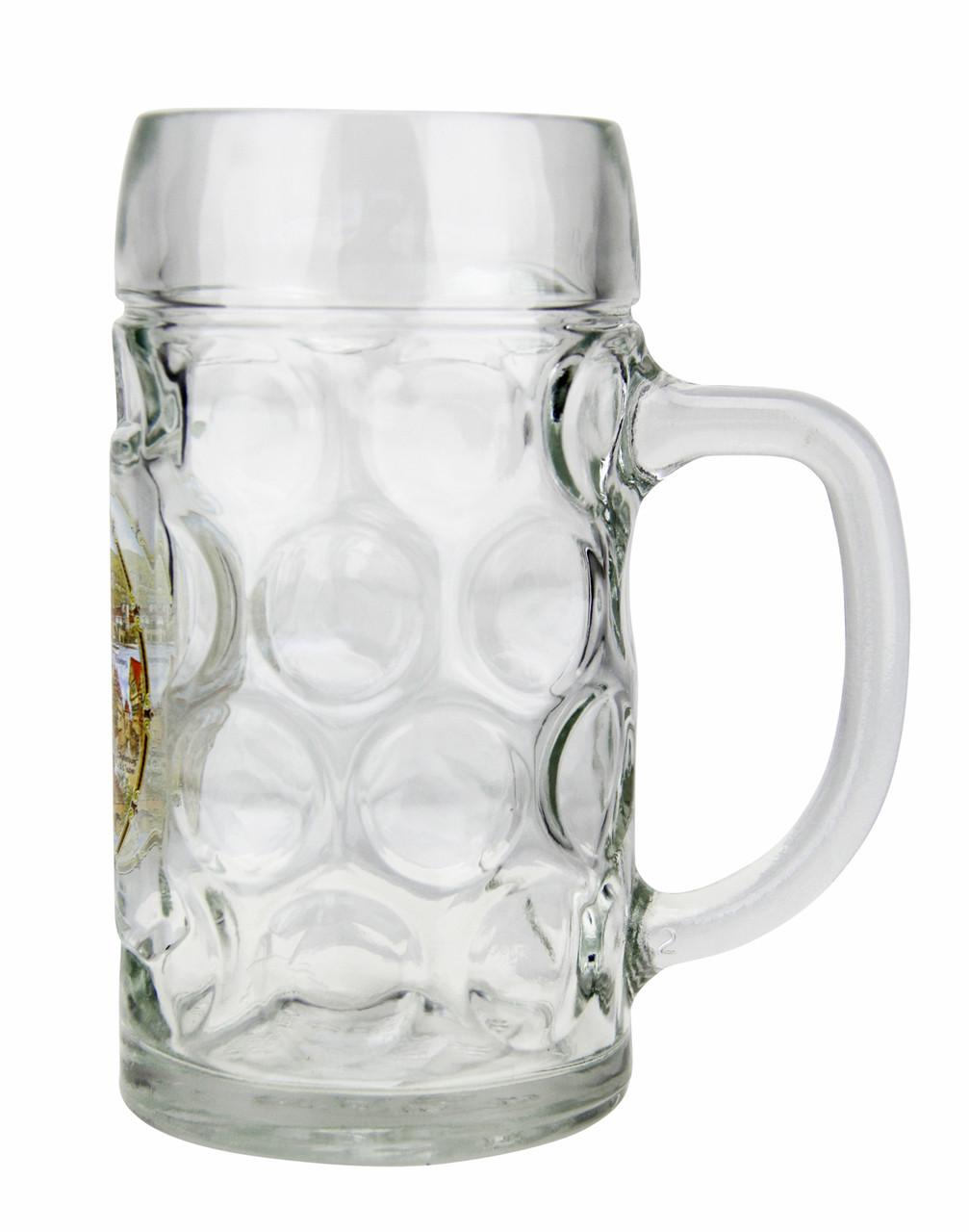 Personalized Beer Mug with German Landmarks