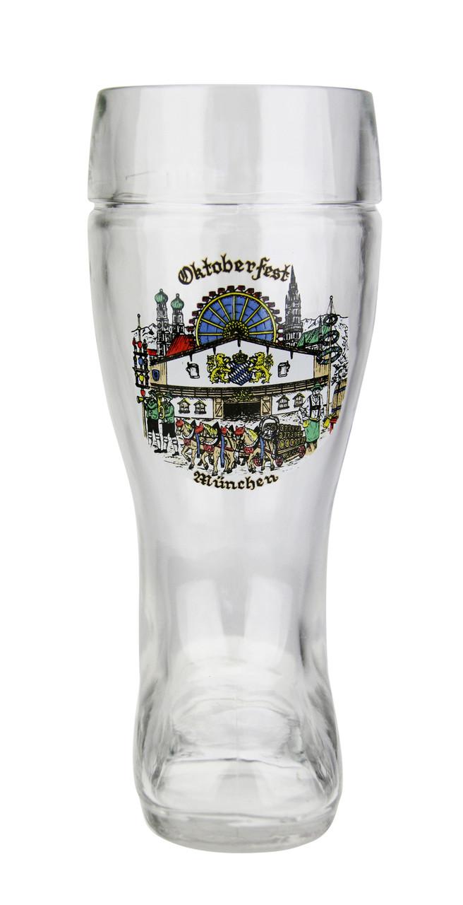 Oktoberfest Munich Glass Beer Boot 0.5 Liter