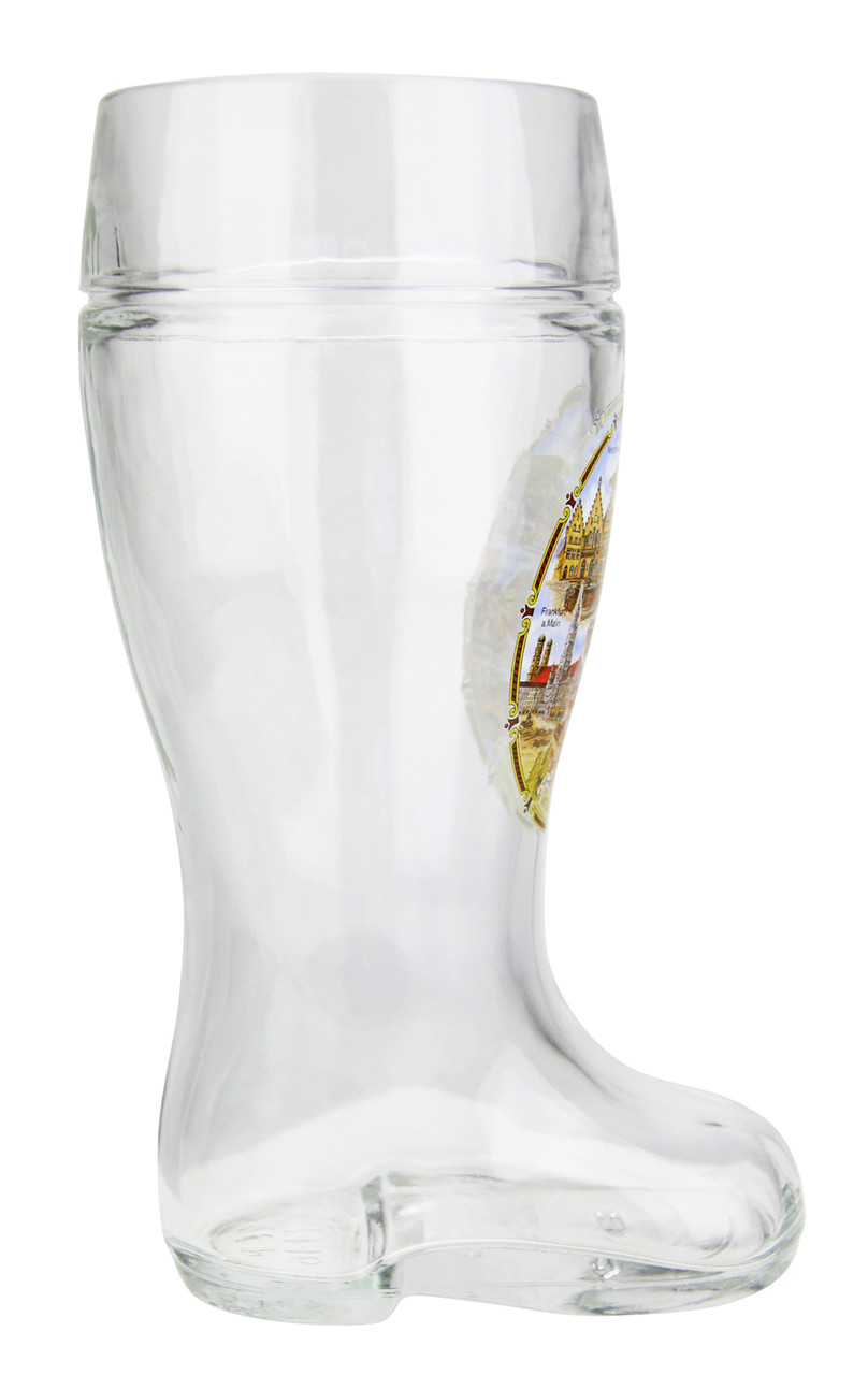 Authentic 1 Liter German Beer Boot