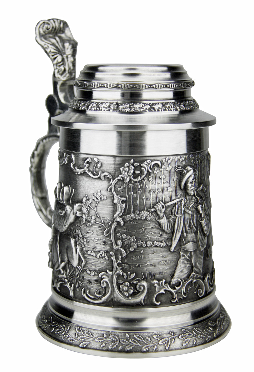 Hunter Pewter Beer Stein