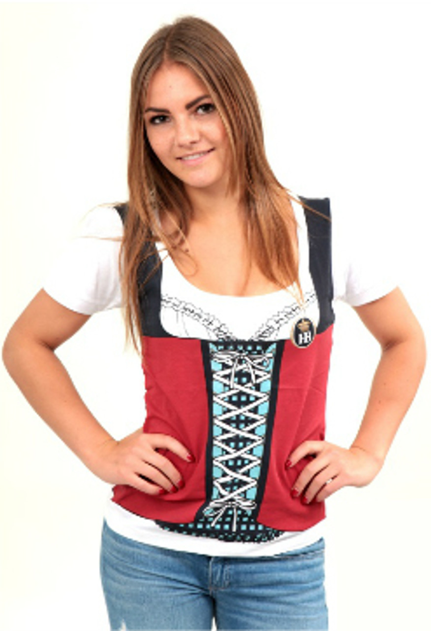 Hofbrauhaus HB Womans Dirndl T Shirt