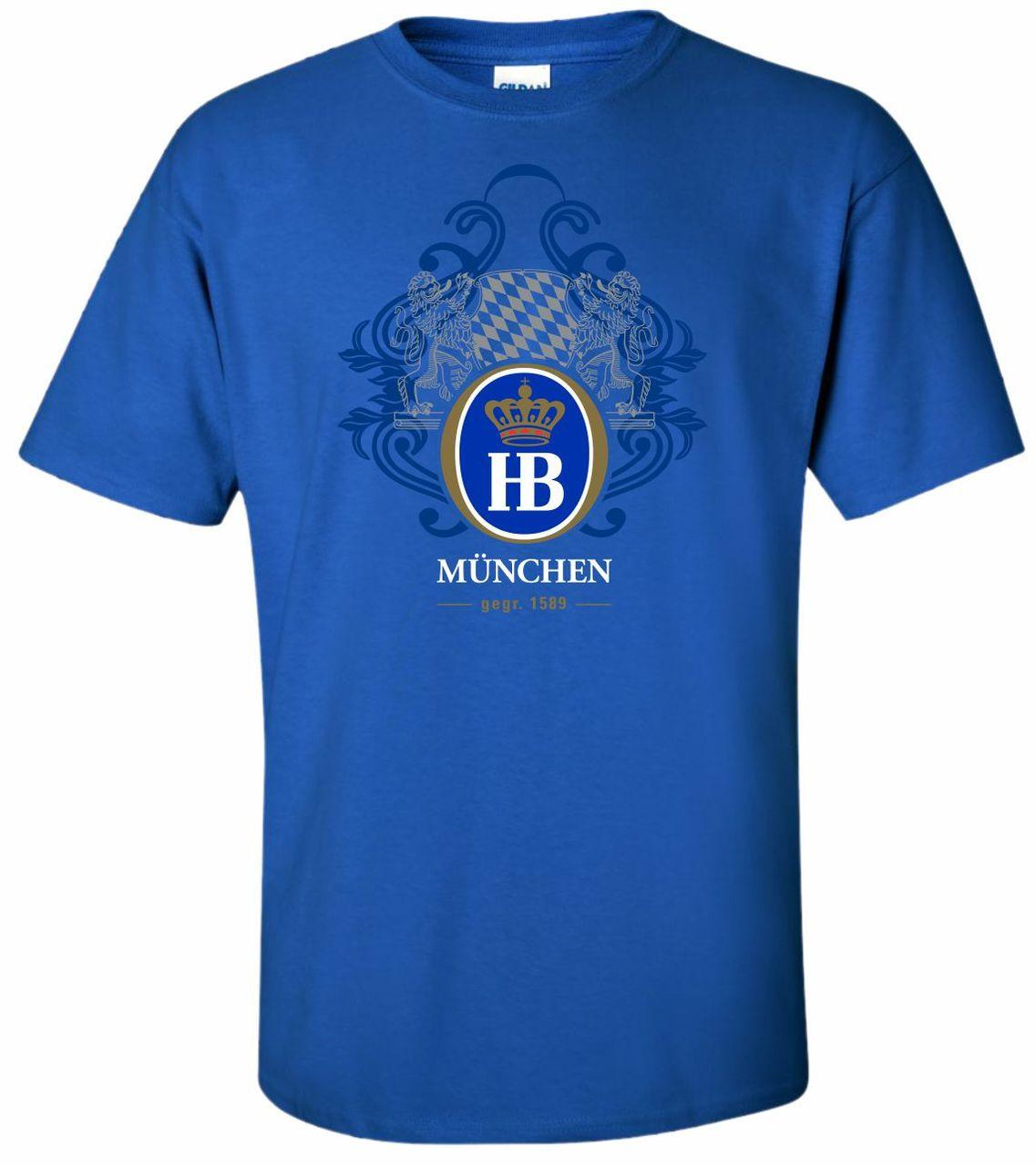 Hofbrauhaus HB 1589 Royal Blue T Shirt