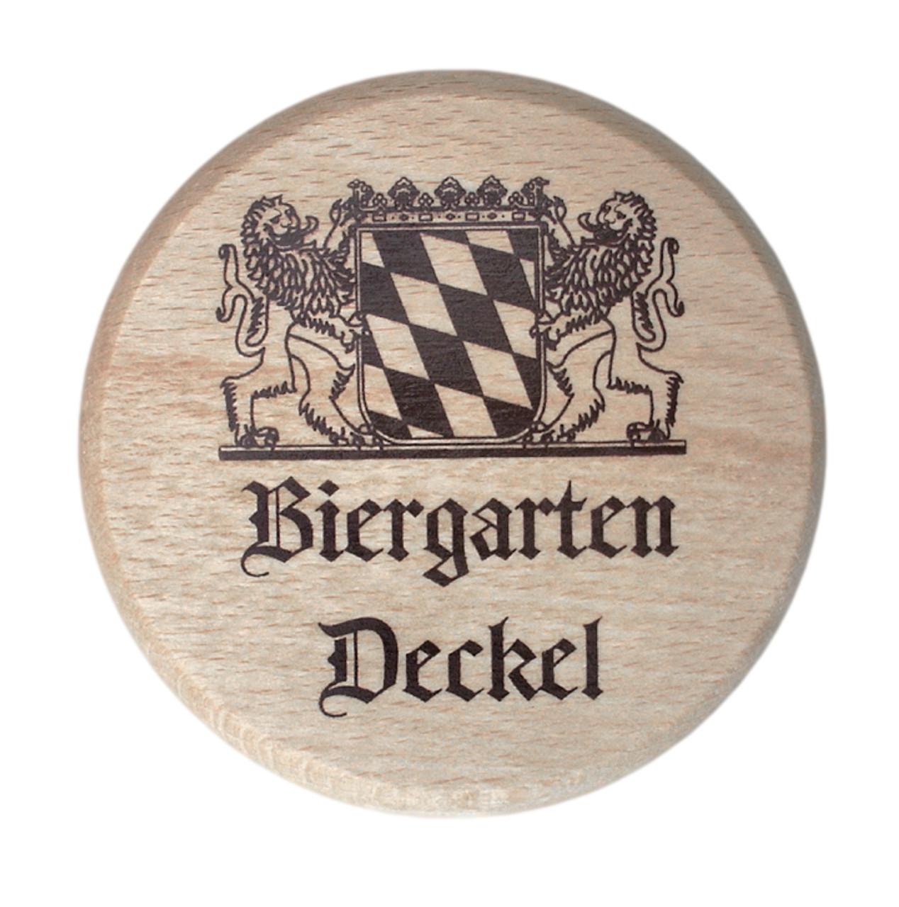 Wooden Beer Mug Cover