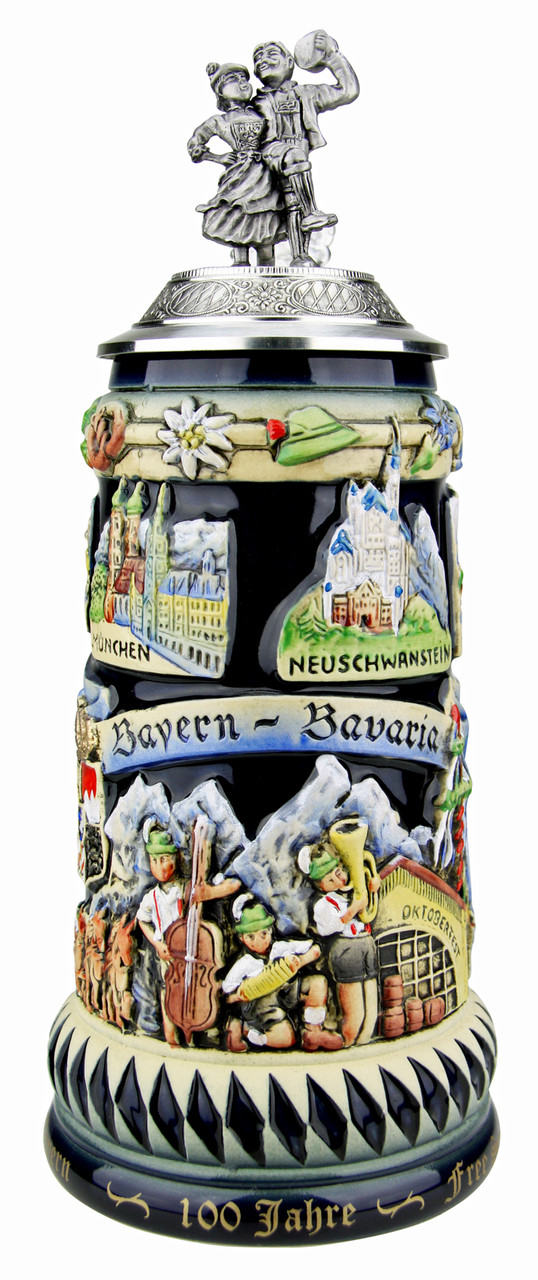 Limited Edition Beer Stein Celebrates Bavarian Independence