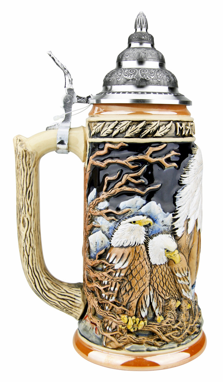 Majestic Eagle Beer Stein