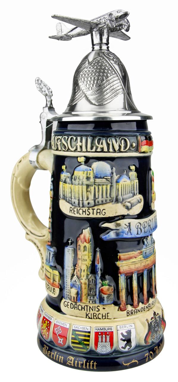 70 Years Berlin Airlift Anniversary Beer Stein