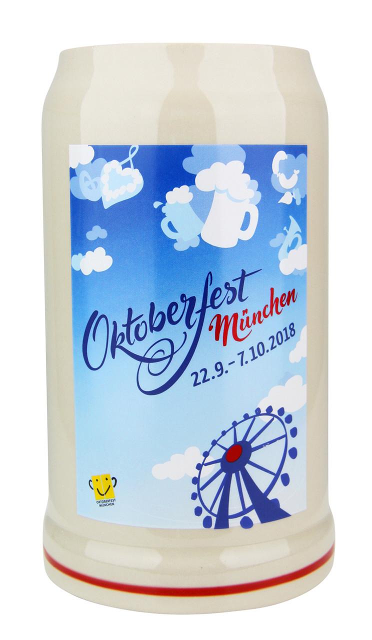 Munich 2018 Official Oktoberfest Beer Mug