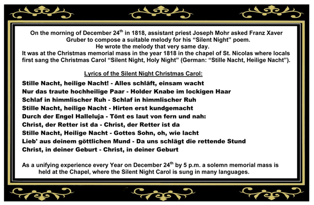 200th Anniversary Silent Night Chapel German Christmas Beer Stein