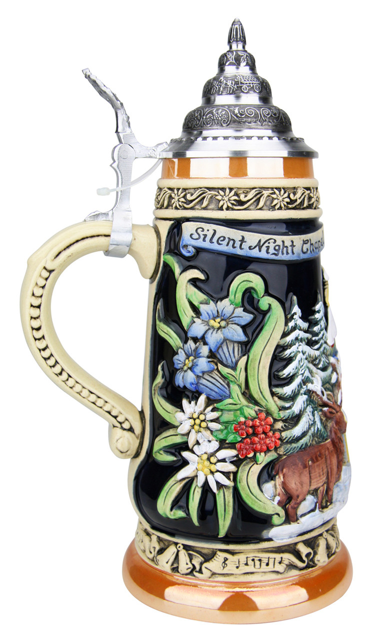 200th Anniversary Silent Night Chapel German Christmas Beer Stein