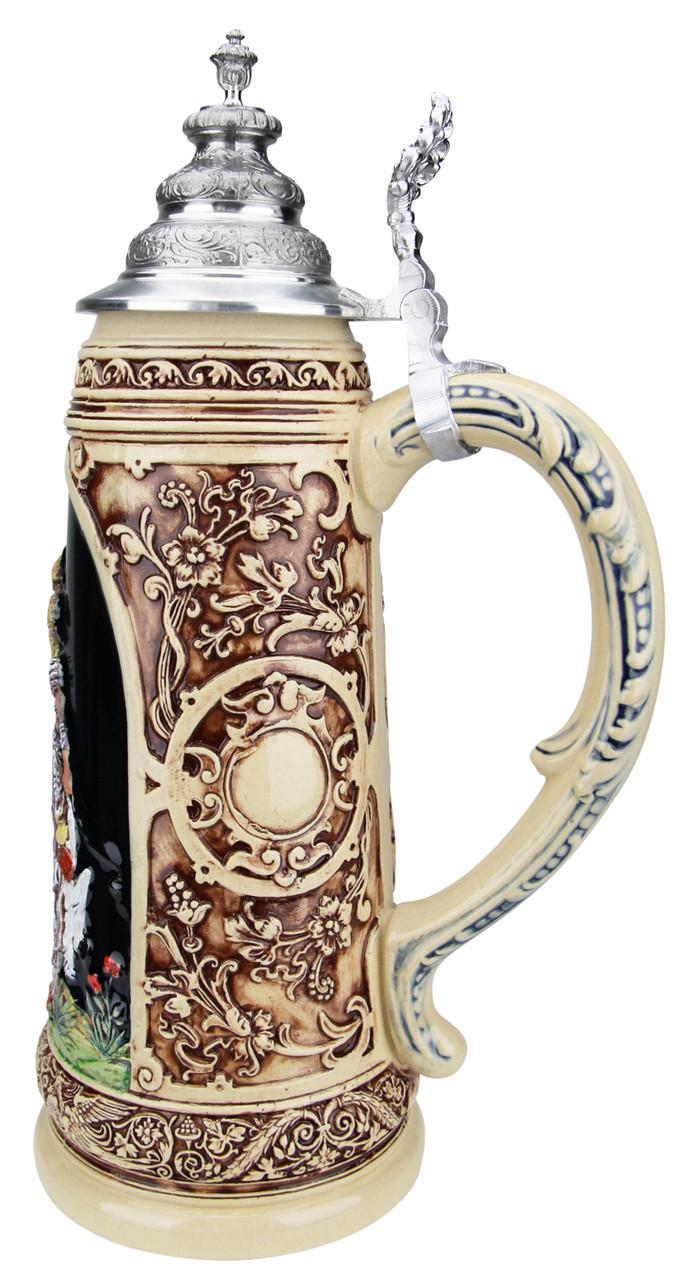 King Limitaet 2019 | Falcon Hunt Handpainted Beer Stein