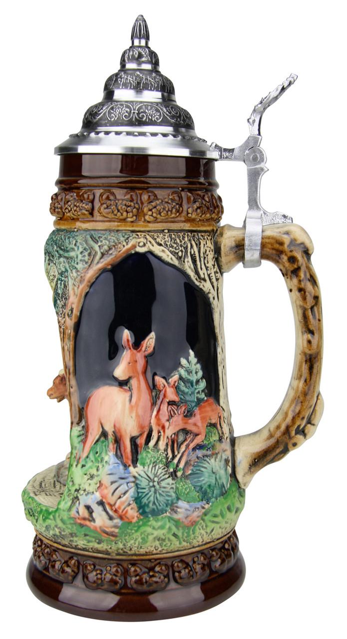 Chamois Wildlife Grotto Beer Stein