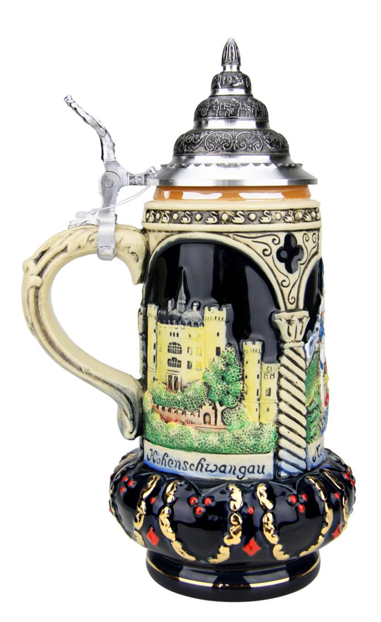 Castles of King Ludwig Crown Beer Stein