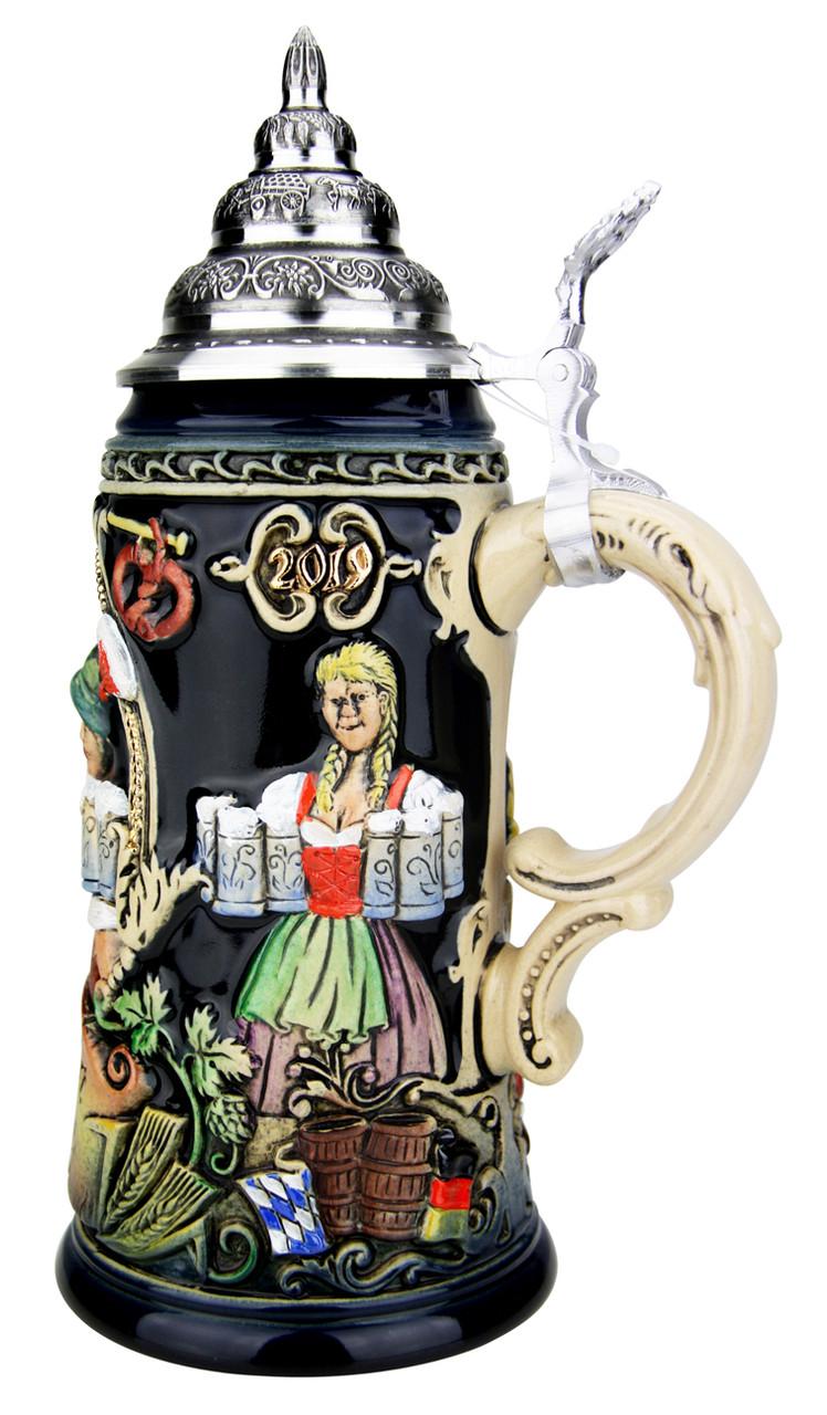 209th Anniversary Oktoberfest Festivities Beer Stein | King Werk 2019 Oktoberfest Beer Stein