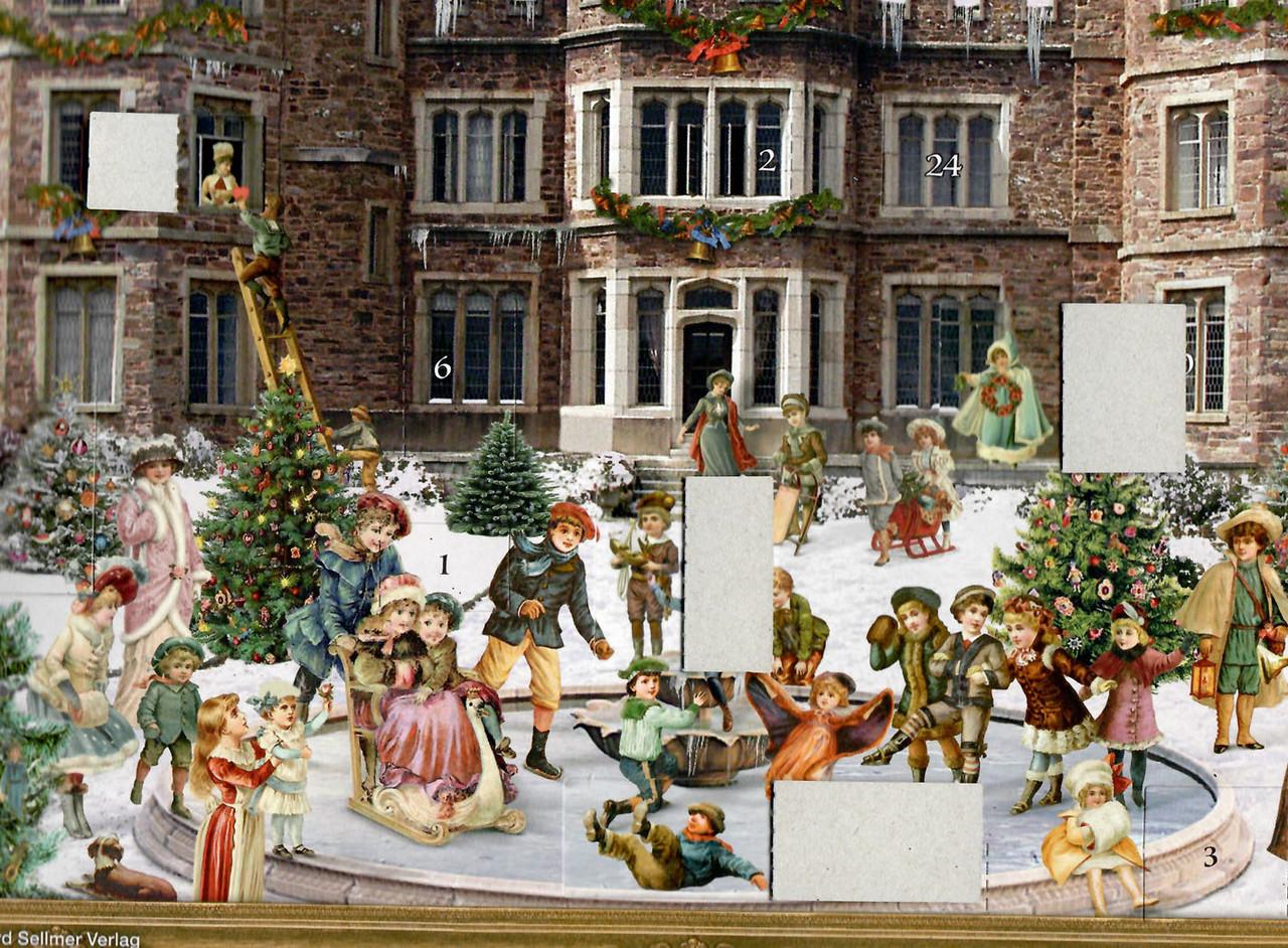 Victorian Castle German Advent Calendar