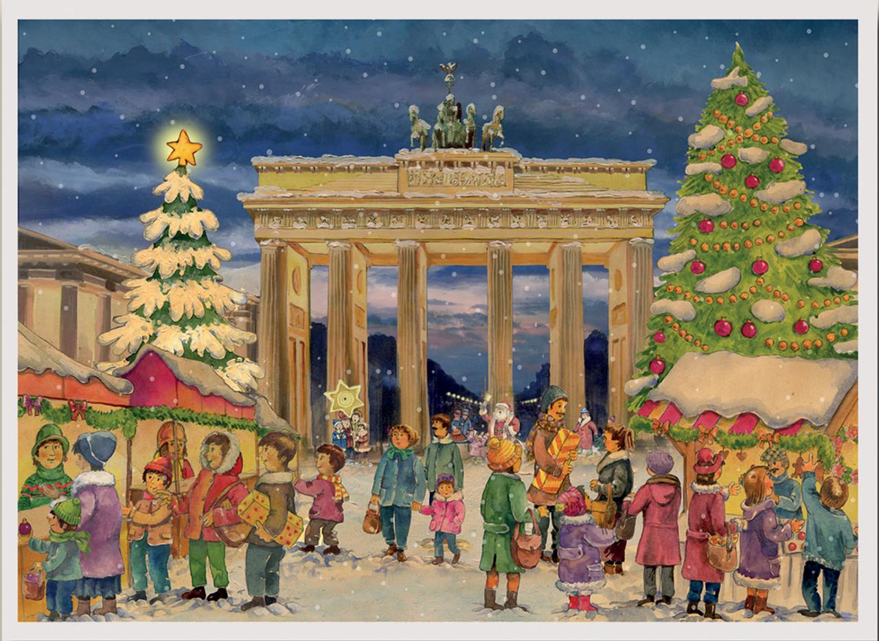 Berlin Brandenburg Gate German Advent Calendar