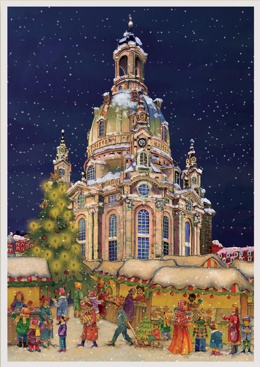 Frauenkirche Dresden German Advent Calendar