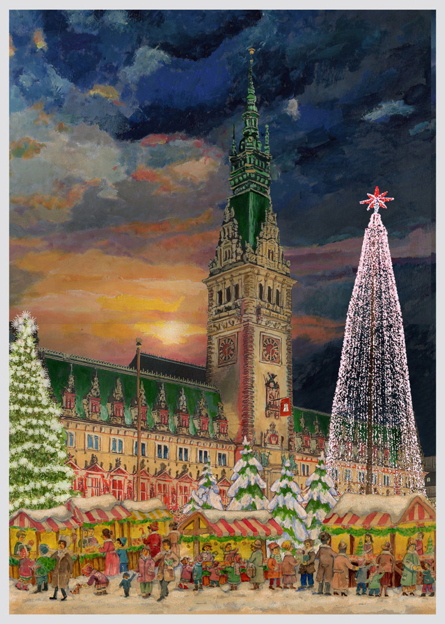 Hamburg German Advent Christmas Calendar