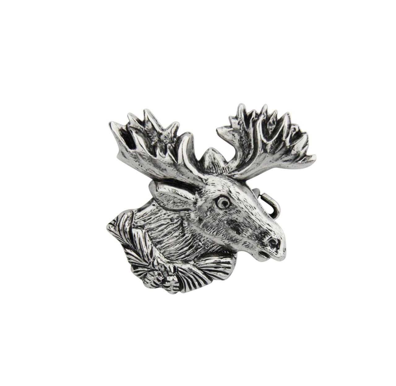 Moose German Hat Pin