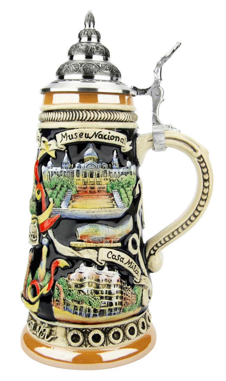 Barcelona Spain Beer Stein