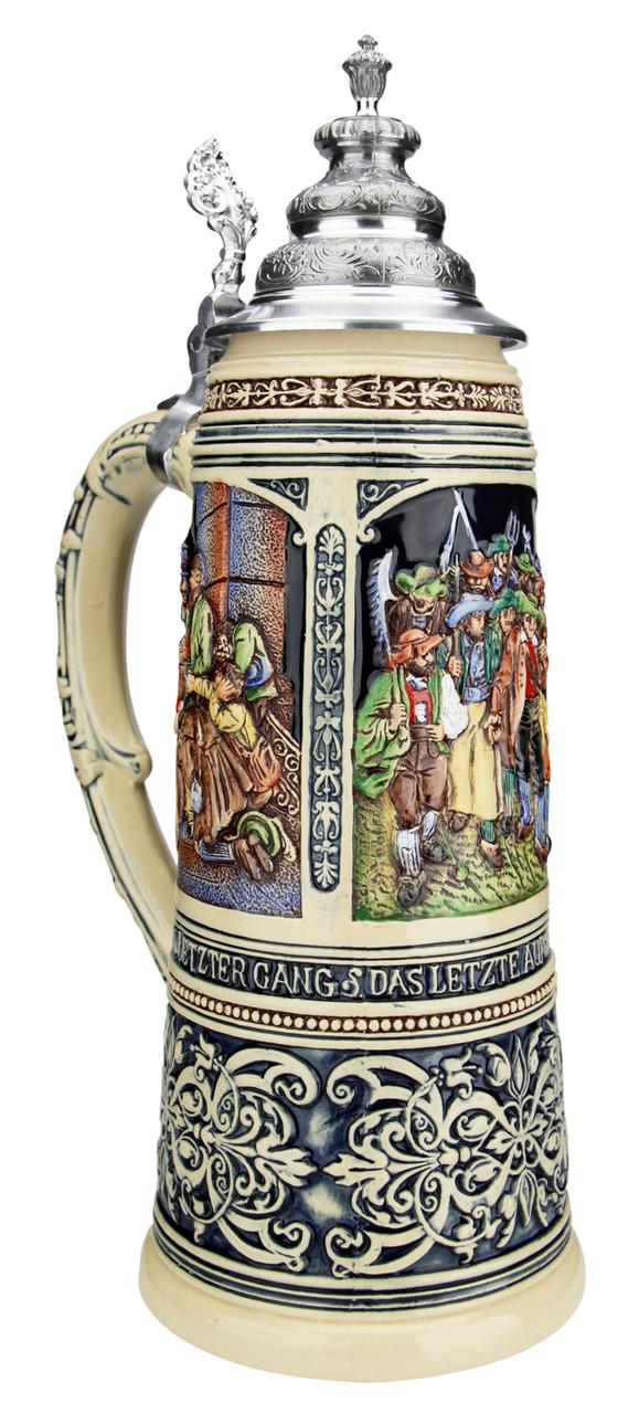 King Limitaet 2020   Tyrolean Rebellion Handpainted Beer Stein