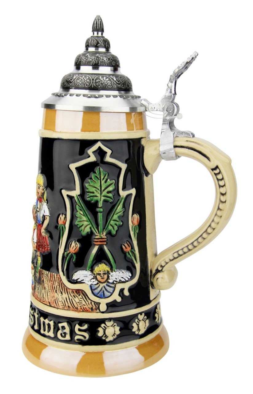 Merry Christmas German Christmas Beer Stein