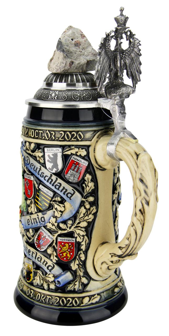 30 Years German Reunification Anniversary Beer Stein