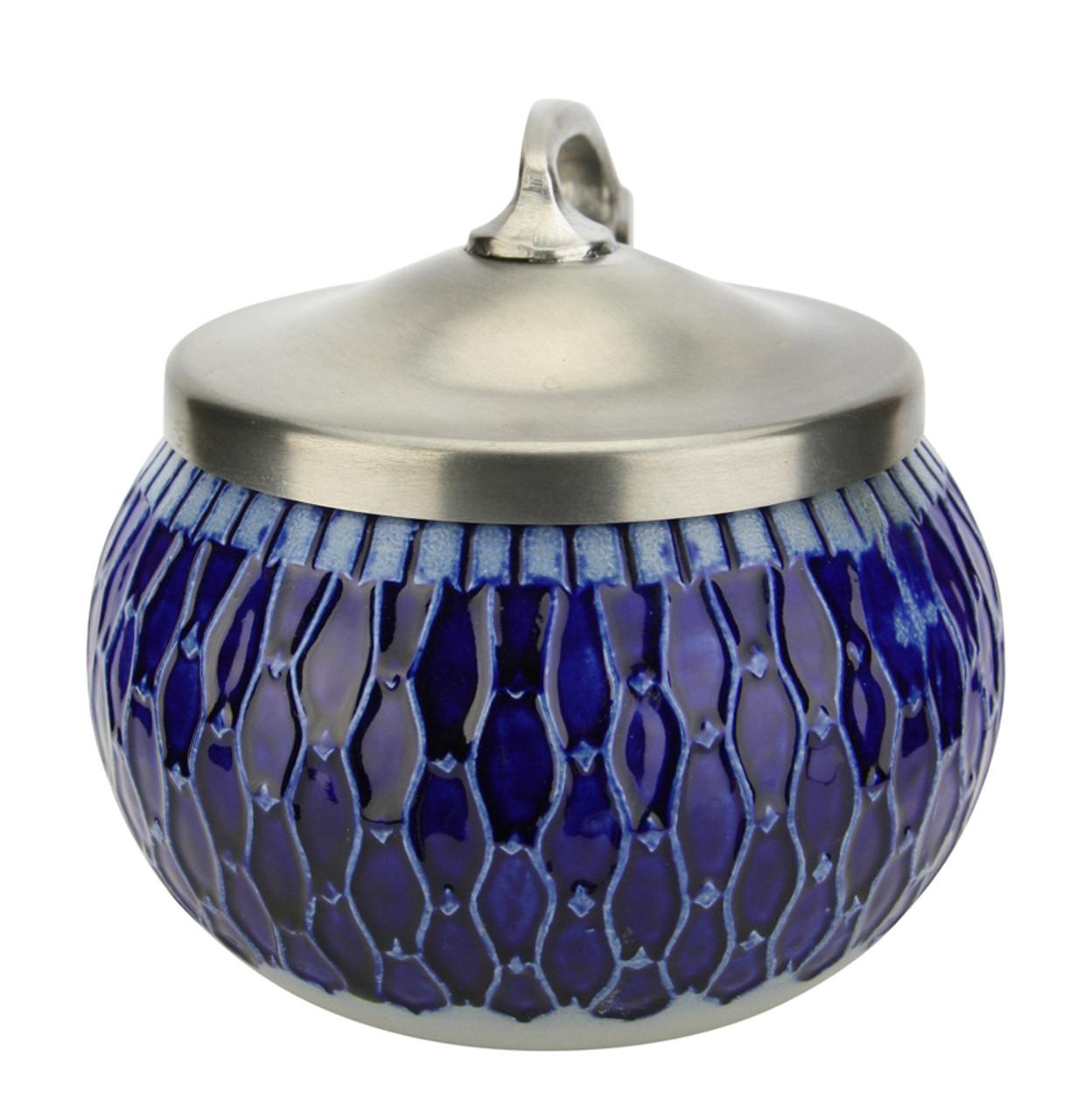Art Nouveau Salt Glaze Beer Stein